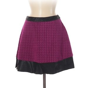 Candies pink and black mini skirt, 7